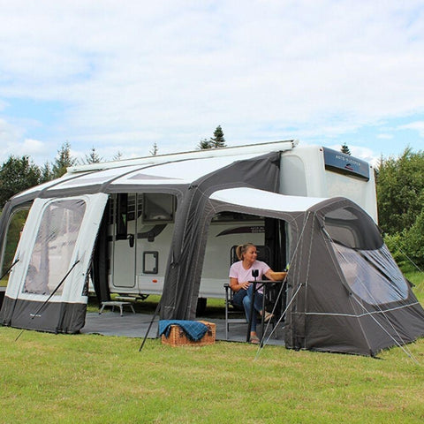 Outdoor Revolution Eclipse Pro 380 Inflatable Caravan Awning + Free Carpet (2020)