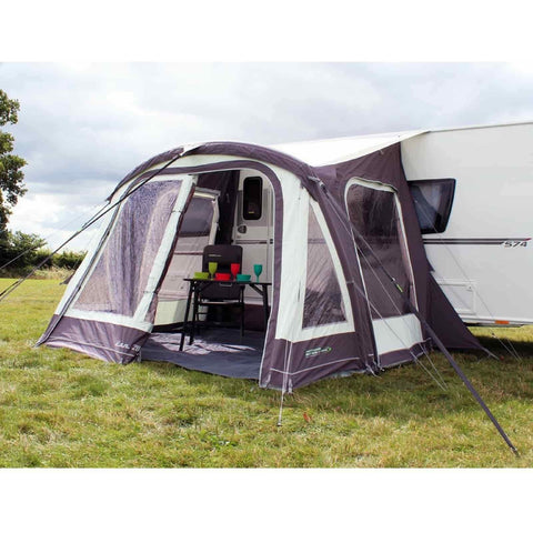 Image of Outdoor Revolution Elan 280 Caravan Air Awning + Free Carpet (2018) made by Outdoor Revolution. A Air Awning sold by Quality Caravan Awnings