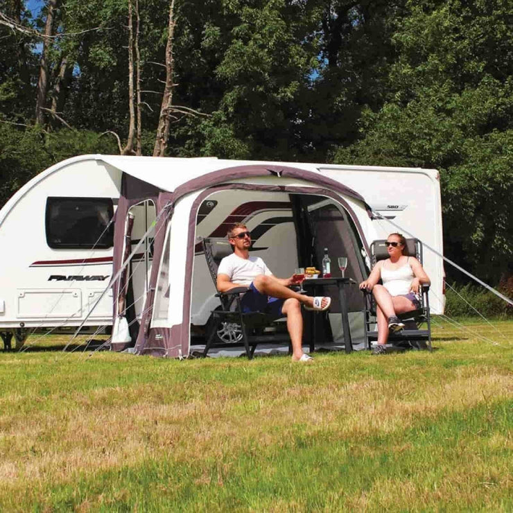 Outdoor Revolution Elan 280 Caravan Air Awning + Free Carpet (2018) made by Outdoor Revolution. A Air Awning sold by Quality Caravan Awnings