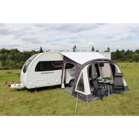 Outdoor Revolution Elan 340 Inflatable Air Porch Caravan Awning + Free Carpet (2019) made by Outdoor Revolution. A Air Awning sold by Quality Caravan Awnings