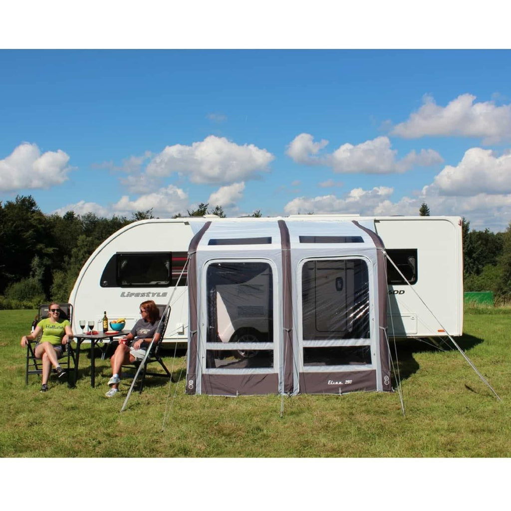 Outdoor Revolution Elise 260 inflatable Caravan Awning OR18320 (2018) made by Outdoor Revolution. A Air Awning sold by Quality Caravan Awnings