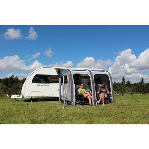 Outdoor Revolution Elise 260 Inflatable Air Caravan Awning + Free Carpet (2019) made by Outdoor Revolution. A Air Awning sold by Quality Caravan Awnings