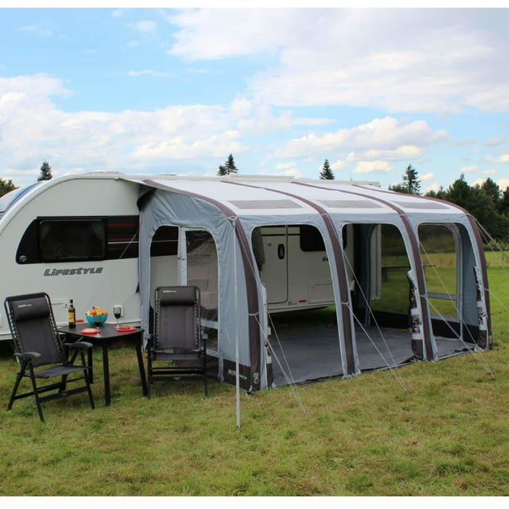 Outdoor Revolution Elise 390 Inflatable Caravan Awning OR18326 (2018) made by Outdoor Revolution. A Air Awning sold by Quality Caravan Awnings