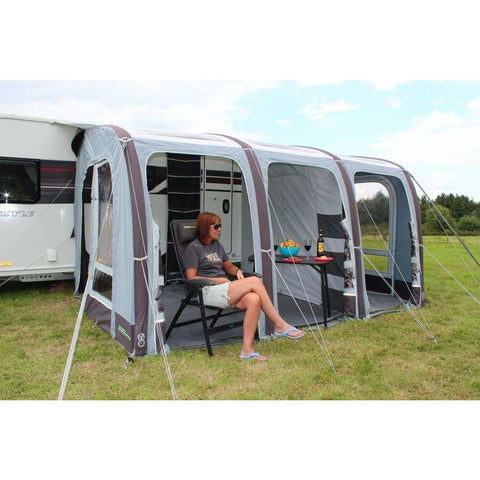 Image of Outdoor Revolution Elise 390 Inflatable Caravan Awning + Free Carpet (2019) made by Outdoor Revolution. A Air Awning sold by Quality Caravan Awnings