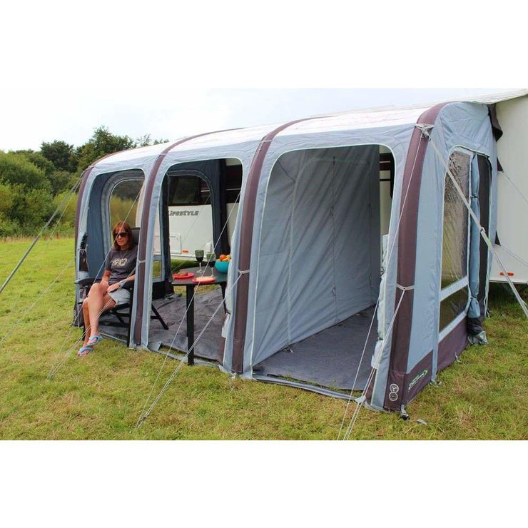 Outdoor Revolution Elise 390 Inflatable Caravan Awning + Free Carpet (2019) made by Outdoor Revolution. A Air Awning sold by Quality Caravan Awnings