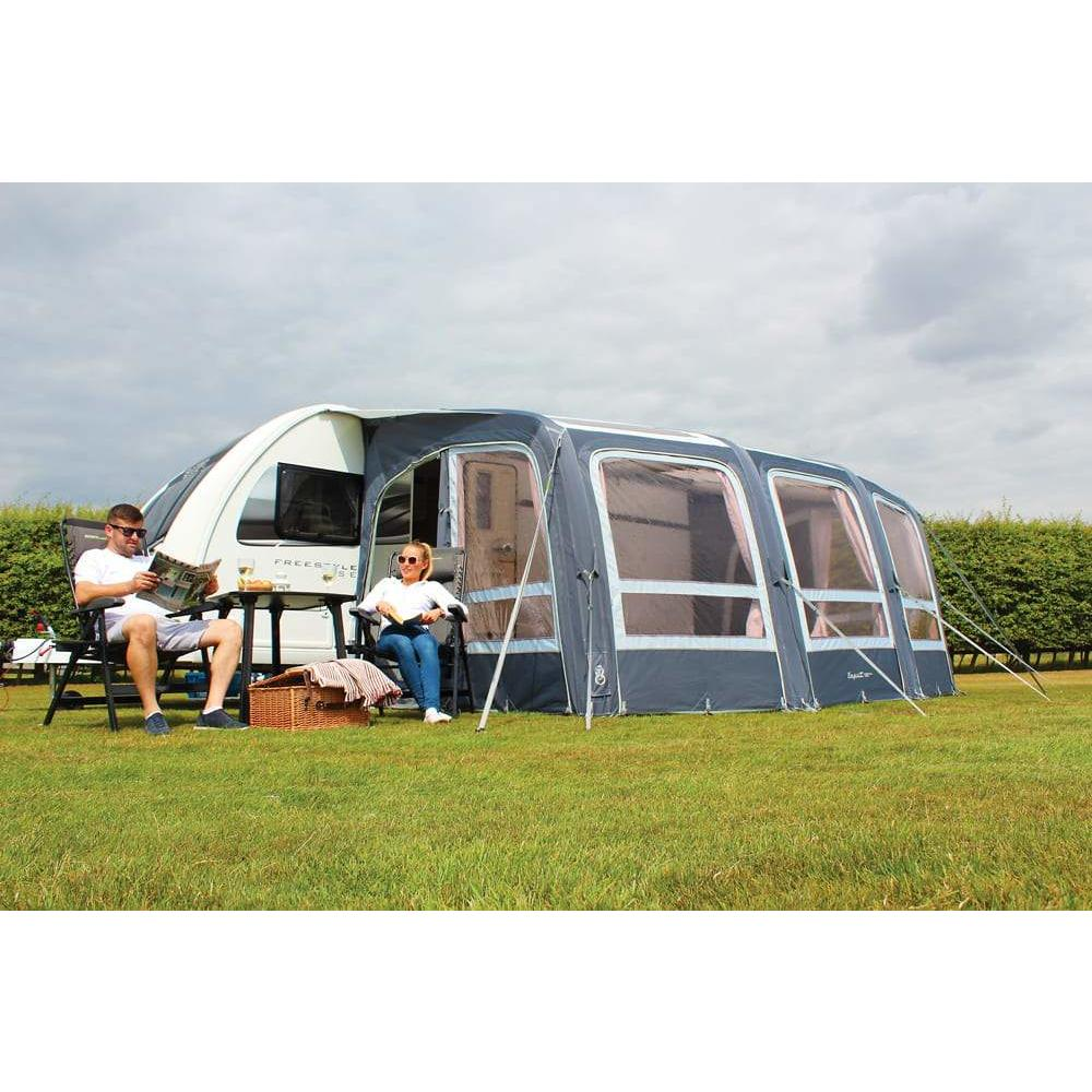 Outdoor Revolution Esprit 420 Pro RVS Air Caravan Awning ORBK3450 + Carpet (2019) made by Outdoor Revolution. A Air Awning sold by Quality Caravan Awnings