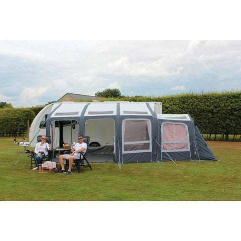 Image of Outdoor Revolution Esprit 420 Pro RVS Air Caravan Awning ORBK3450 + Carpet (2019) made by Outdoor Revolution. A Air Awning sold by Quality Caravan Awnings