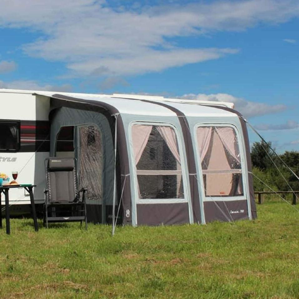 Outdoor Revolution Evora 260 Pro Climate Air Awning OR18350 + FREE Groundsheet (2018) - Quality Caravan Awnings