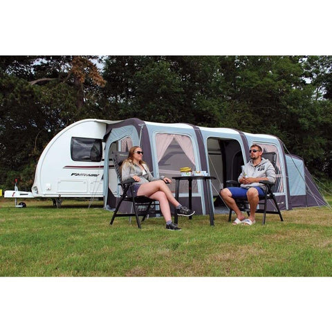 Outdoor Revolution Evora 390 Pro Climate Air Awning ORBK3520 + FREE Carpet (2019) made by Outdoor Revolution. A Air Awning sold by Quality Caravan Awnings