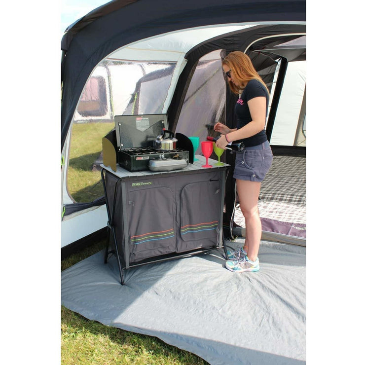 Outdoor Revolution Kitchen Stand with Windshield Top FUR1640 (2019) made by Outdoor Revolution. A Accessories sold by Quality Caravan Awnings