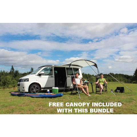 Image of Outdoor Revolution Movelite T4 Mid Driveaway Awning + Canopy & Carpet Bundle (2019) made by Outdoor Revolution. A Drive-away Awning sold by Quality Caravan Awnings