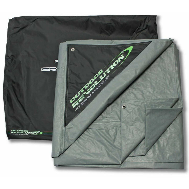 Outdoor Revolution Cayman Deltair Footprint Groundsheet ORBK7255 (2019) made by Outdoor Revolution. A Accessories sold by Quality Caravan Awnings