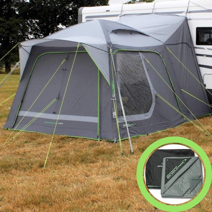 Outdoor Revolution Movelite Cayman Air XL Highline Driveaway Awning + Footprint (2019) made by Outdoor Revolution. A Drive-away Awning sold by Quality Caravan Awnings