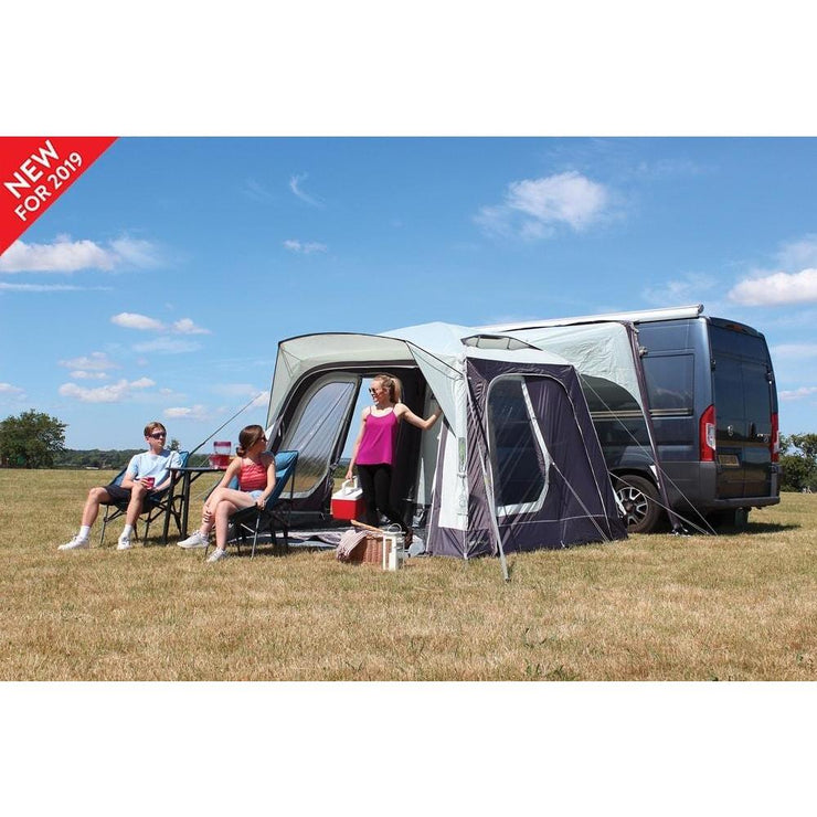 Outdoor Revolution Movelite T1 Low-Midline Driveaway Awning + Free Footprint (2019) made by Outdoor Revolution. A Drive-away Awning sold by Quality Caravan Awnings