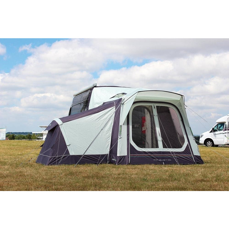 Outdoor Revolution Movelite T1 Tail Highline & Annexe & Carpet Bundle (2019) made by Outdoor Revolution. A Drive-away Awning sold by Quality Caravan Awnings