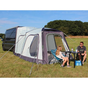 Outdoor Revolution Movelite T1 Tail Motorhome Awning Bundle Free Groundsheet made by Outdoor Revolution. A Campervan Awning sold by Quality Caravan Awnings
