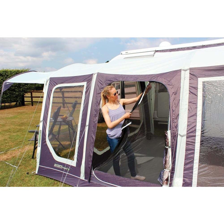 Outdoor Revolution Movelite T4 Highline Right Hand Door Driveaway Awning + Footprint made by Outdoor Revolution. A Drive-away Awning sold by Quality Caravan Awnings
