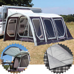 Outdoor Revolution Movelite T4 Low Driveaway Awning + Canopy & Carpet Bundle (2019) made by Outdoor Revolution. A Drive-away Awning sold by Quality Caravan Awnings