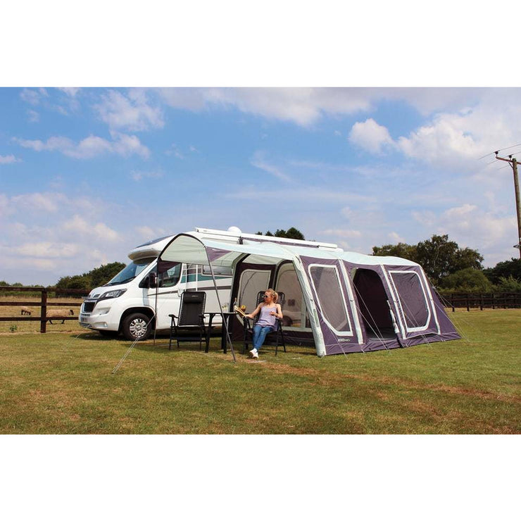 Outdoor Revolution Movelite T4 Low Driveaway + Carpet & Groundsheet Bundle (2019) made by Outdoor Revolution. A Drive-away Awning sold by Quality Caravan Awnings