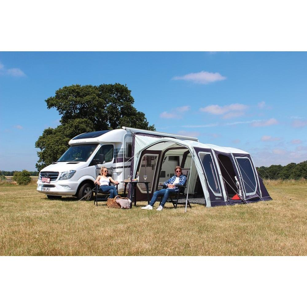 Outdoor Revolution Movelite T4 Lowline Right Hand Door Driveaway Awning + Footprint made by Outdoor Revolution. A Drive-away Awning sold by Quality Caravan Awnings