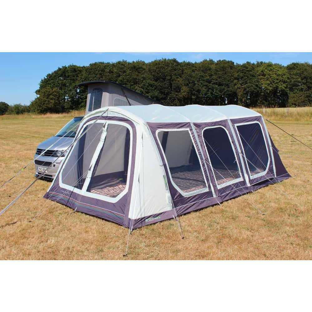 Outdoor Revolution Movelite T5 Kombi Low-Midline + Carpet & Groundsheet Bundle (2019) made by Outdoor Revolution. A Campervan Awning sold by Quality Caravan Awnings