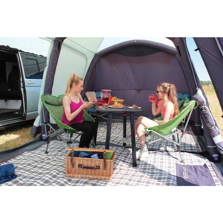 Outdoor Revolution Movelite T5 Kombi Low-Mid Driveaway + Canopy & Carpet Bundle (2019) made by Outdoor Revolution. A Campervan Awning sold by Quality Caravan Awnings