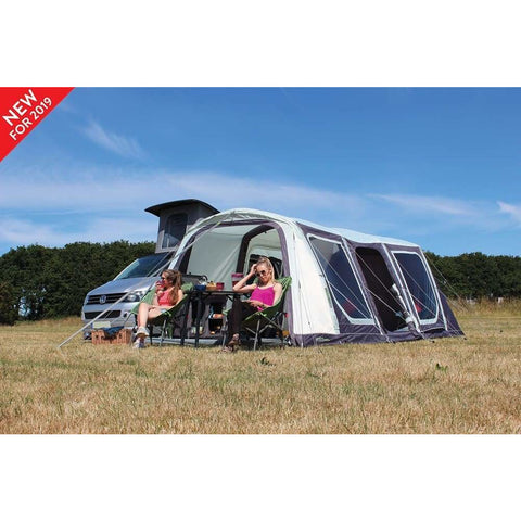 Image of Outdoor Revolution Movelite T5 Kombi Low-Midline + Carpet & Groundsheet Bundle (2019) made by Outdoor Revolution. A Campervan Awning sold by Quality Caravan Awnings