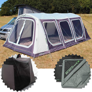 Outdoor Revolution Movelite T5 Kombi Low-Mid + 2 Berth Innertent & Carpet Bundle (2019)