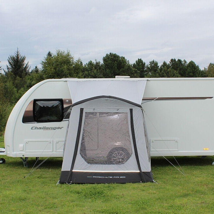 Outdoor Revolution Porchlite 200 Inflatable Air Caravan Awning ORBK1030 + Free Carpet (2020)