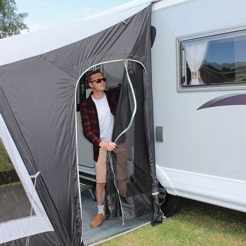 Outdoor Revolution Porchlite 260 L Inflatable Air Caravan Awning ORBK1050 + Free Carpet (2020)
