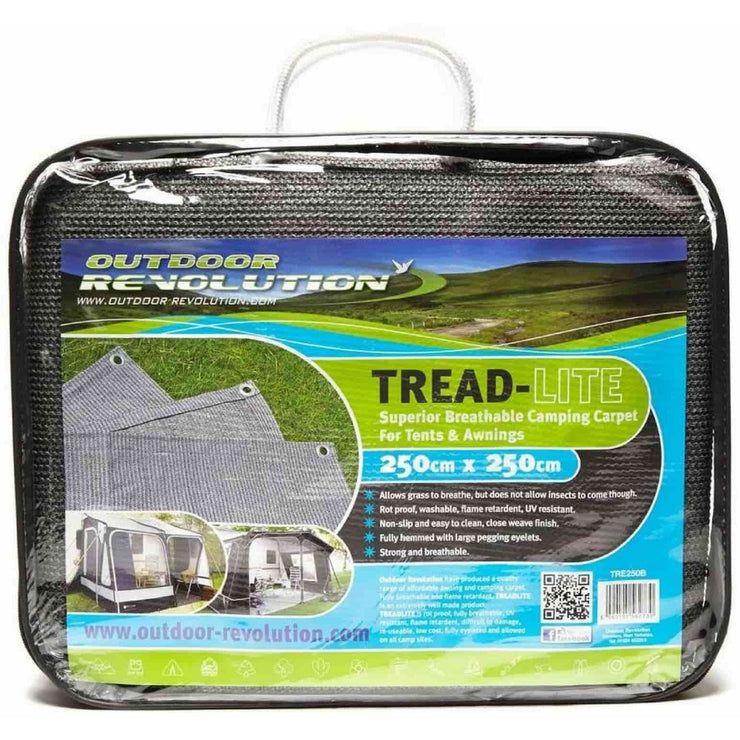 Outdoor Revolution Treadlite 400 Awning Carpet TRE400B - Quality Caravan Awnings