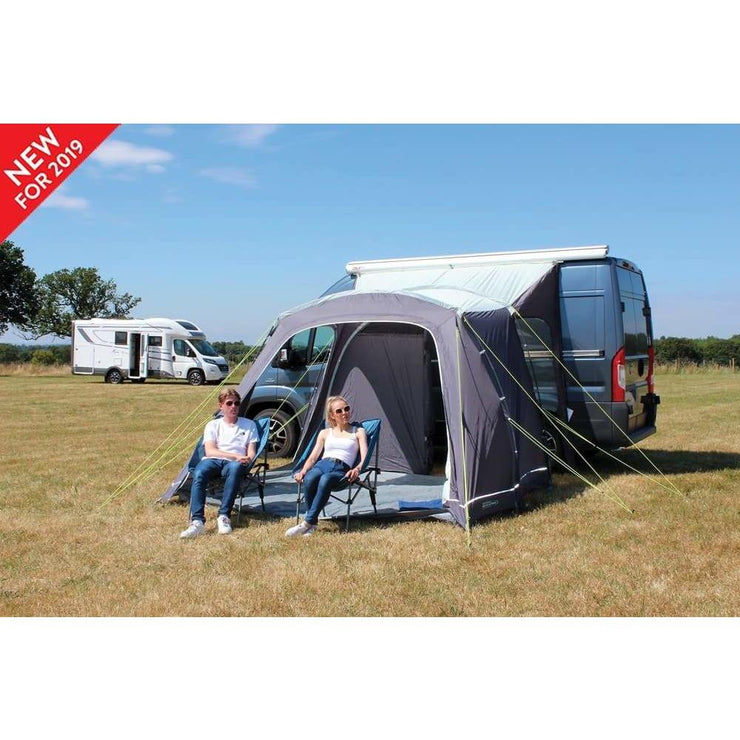 Outdoor Revolution Turismo Lowline Driveaway Awning Fiberglass Poled ORBK0130 (2019) - Quality Caravan Awnings