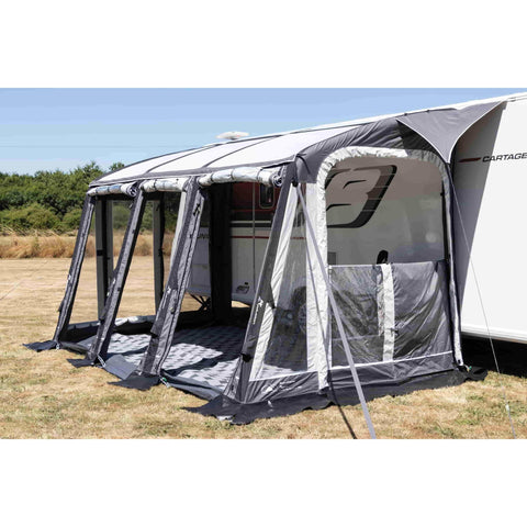 Image of Sunncamp Inceptor Air Extreme 390 Inflatable Caravan Awning SF1900 (2020)