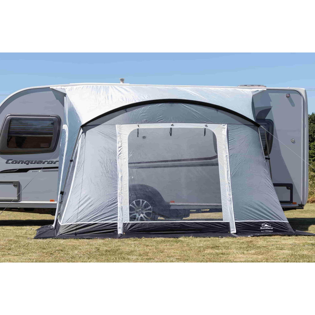 Sunncamp Swift 325 Deluxe Caravan Porch Awning Driveaway