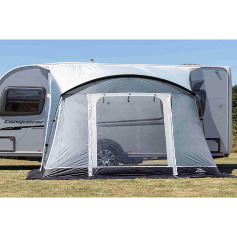 Sunncamp Swift 325 Deluxe Caravan Porch Awning Driveaway Dark Grey SF1907 (2019)