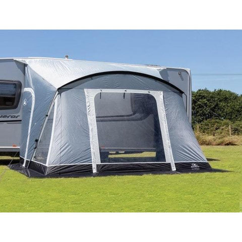 Image of Sunncamp Swift 325 Deluxe Caravan Porch Awning Driveaway Dark Grey SF1907 (2019)