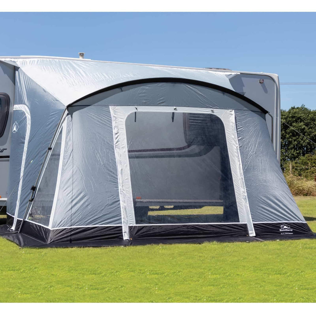Sunncamp Swift 325 Deluxe Caravan Porch Awning Driveaway ...