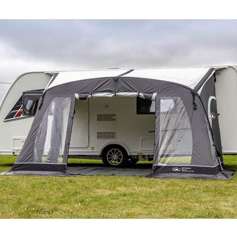 Image of Sunncamp Swift Air Extreme 390 Caravan Awning SF2001 + Free Air Storm Bars