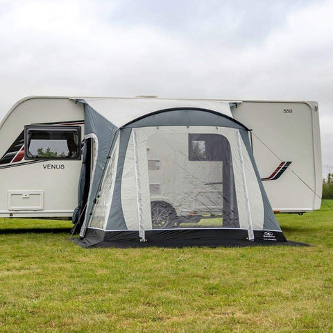 Sunncamp Swift Deluxe SC 325 Caravan Awning SF2065 + Free Stormstraps
