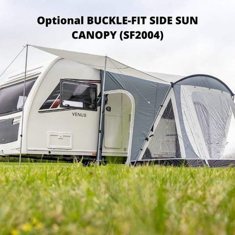 Sunncamp Swift Deluxe SC 220 Caravan Awning SF2068 + Free Stormstraps