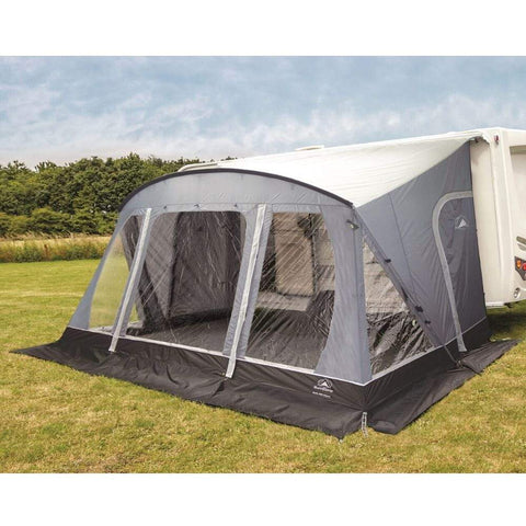 Sunncamp Swift Deluxe SC 390 Caravan Awning SF2064 + Free Stormstraps