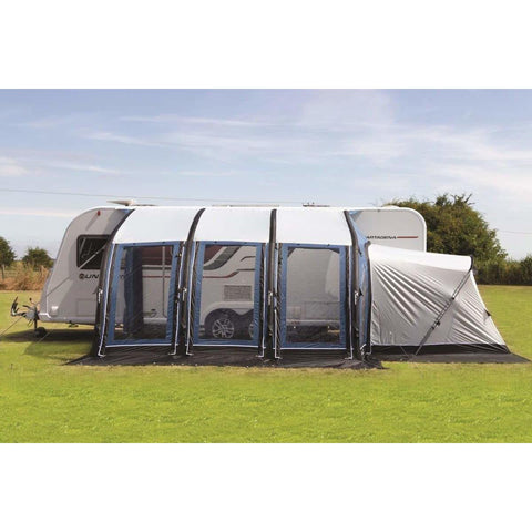 Image of Sunncamp Ultima Versara Air 390 Grey Inflatable Caravan Awning Driveaway (2020)