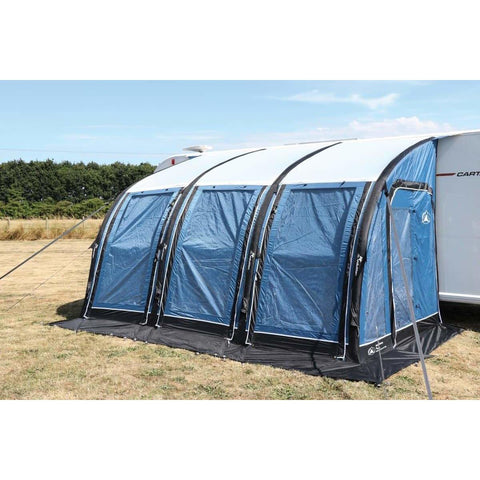 Image of Sunncamp Ultima Versara Air 390 Grey Inflatable Caravan Awning Driveaway (2019)