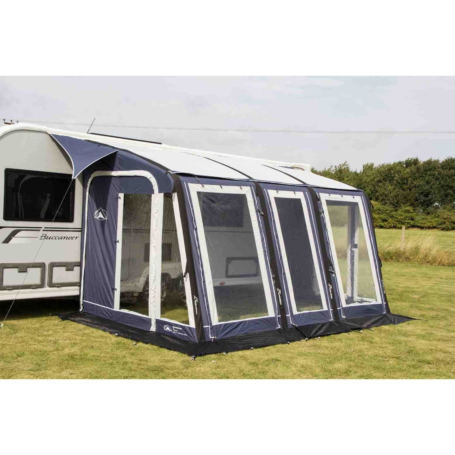 Sunncamp Ultima Air Super Deluxe 390 Blue Air Awning ...