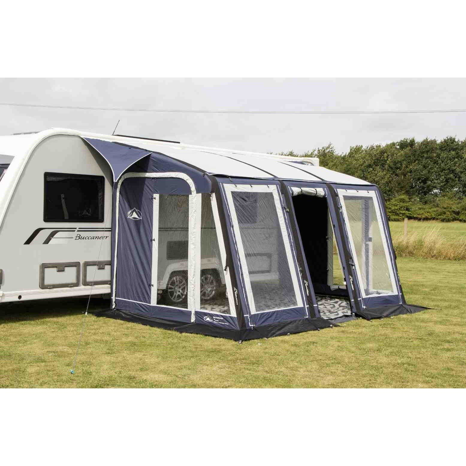 Sunncamp Ultima Air Super Deluxe 390 Blue Air Awning