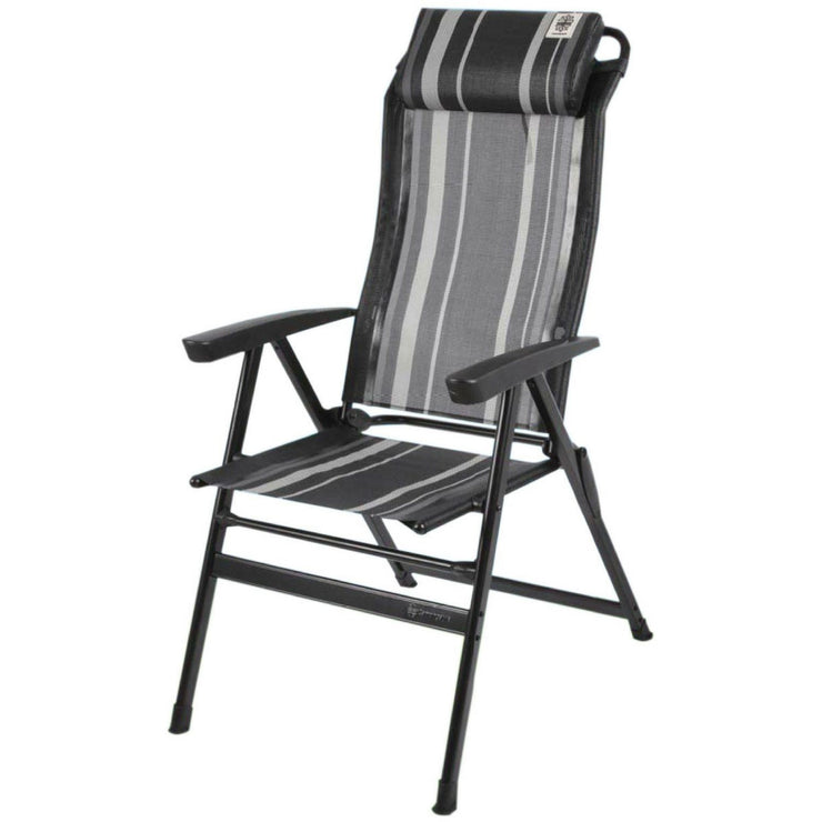 Walker Easy-Chair Kapas-Black (2018) - Quality Caravan Awnings