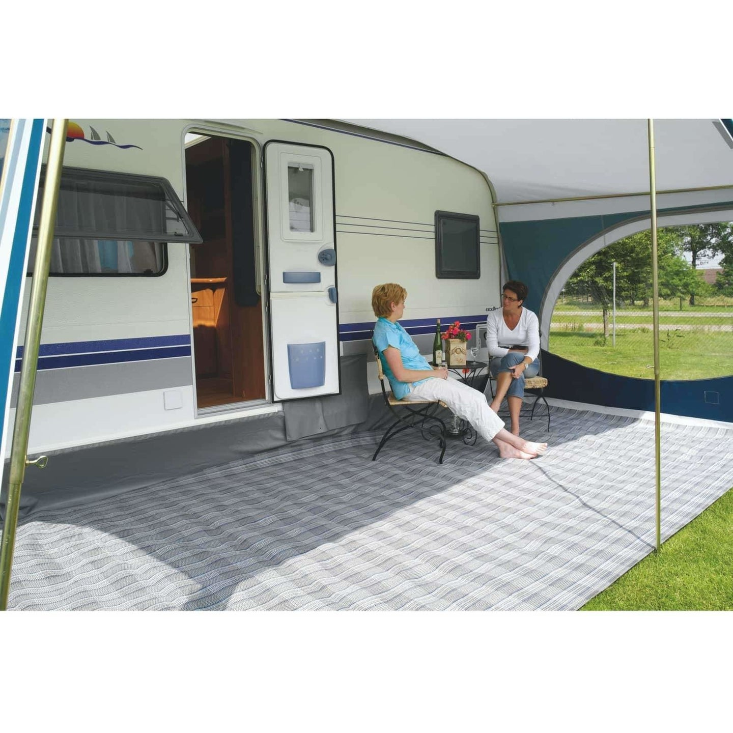 Jolax Awning Carpet for Touring-Plus Triton, Troll, Eriba Feeling 230, Trigano Silver 310/340/380, Maxi 380, Kip Shelter, T@B 320 (2018) - Quality Caravan Awnings
