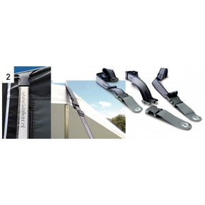 Walker Easylock Storm Straps (2-straps for awning) (2018) - Quality Caravan Awnings