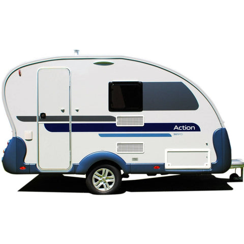 Walker Adria Action Caravan Awning (2018) + Free Storm Straps - Quality Caravan Awnings