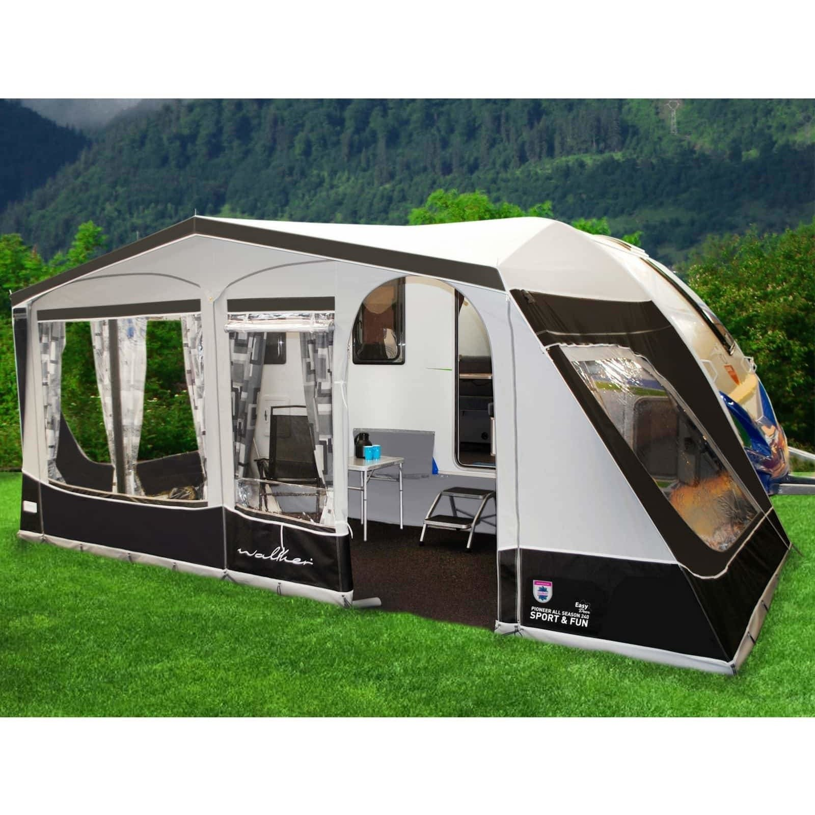 Walker Knaus Sport Amp Fun Full Caravan Awning Traditional